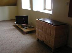 RD Malíkovice - obývací pokoj