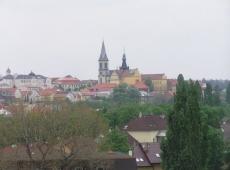 4. Bytový dům Kročehlavy - výhled