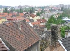 5. Bytový dům Kročehlavy - výhled