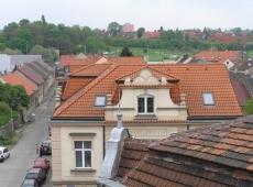 6. Bytový dům Kročehlavy - výhled