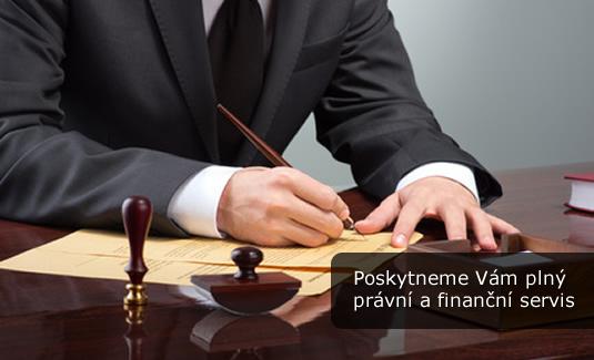 Právní a finanční servis